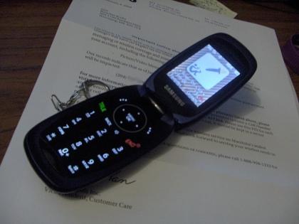 Samsung M510 Cellular Phone